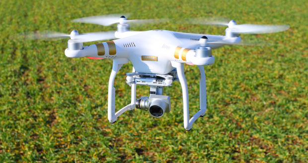 The Use of Unmanned Aerial Vehicle To Collect Crop Data